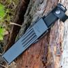 "Fallkniven S1 PRO10, 5.12"" Lam.CoS Satin Blade, Thermorun Handles, Zytel Sheath"