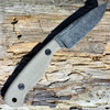 "Esee-JG3-BO Camp-Lore Designed by James Gibson, 3.5"" 1095 Black Oxide Stonewash Blade, Micarta Handle"