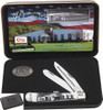 Case 40th Anniversary Owens Way White Synthetic Handle 30896 Trapper