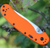 Ontario RAT Model 1A A/O Folder, 3.5 in. AUS8 Blade Steel, Orange G-10 Handle, (SPECIAL) WHILE SUPPLIES LAST
