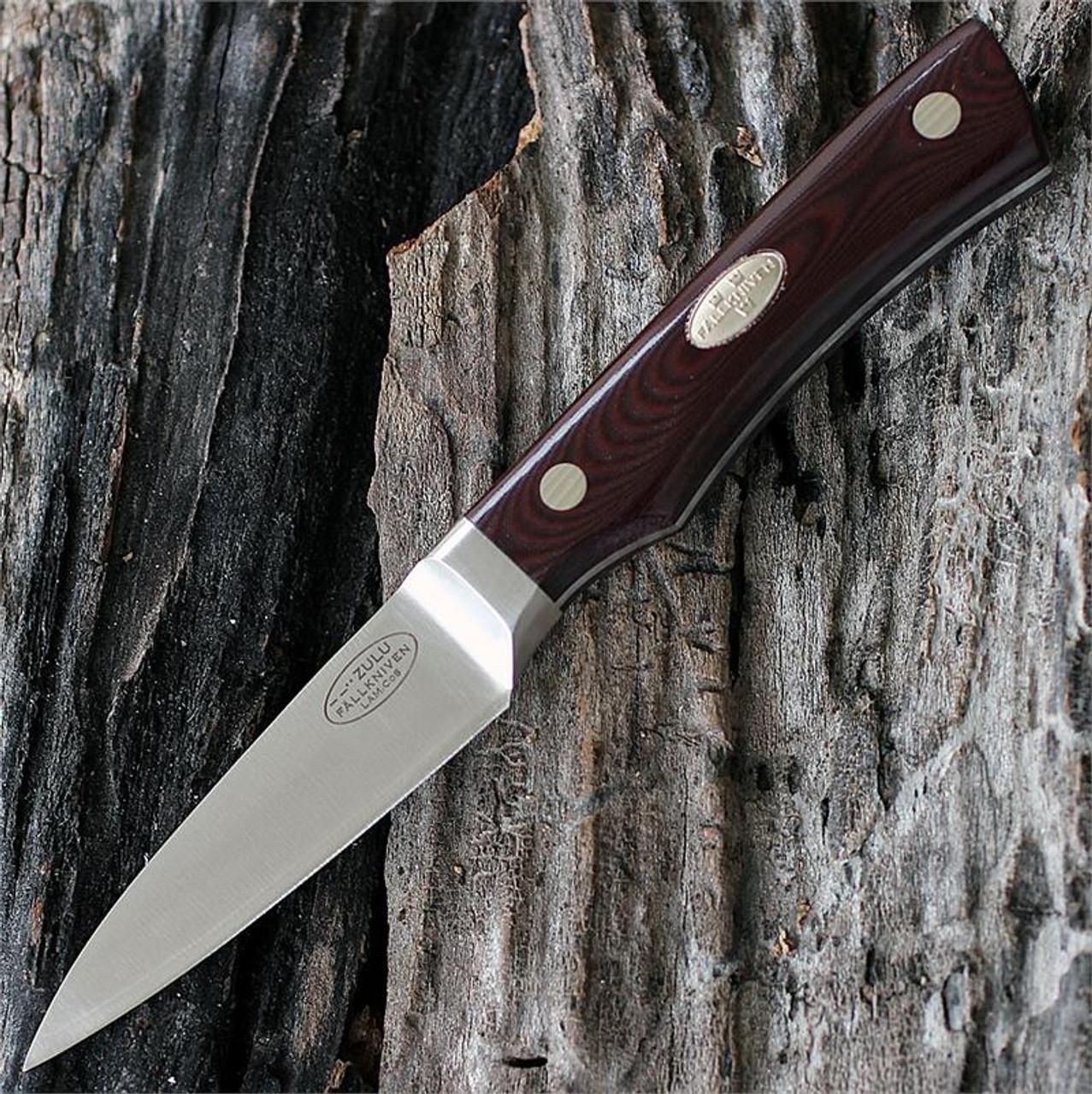 """Fallkniven Zulu CMT Chefs Knife, 7"""" Overall Length"""