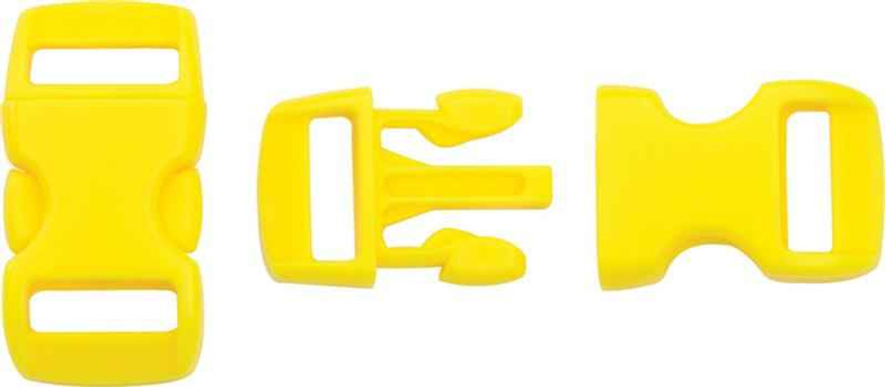 Knotty Boys Buckle. Yellow.