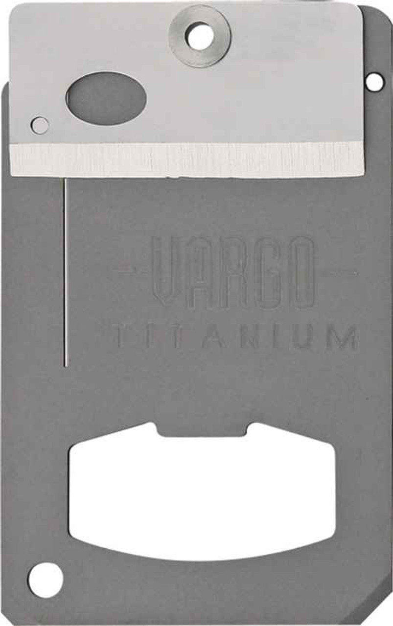 Vargo Titanium Money Clip Swing Blade Tool