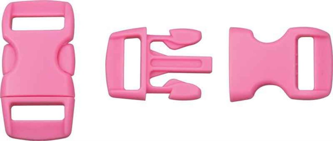 Knotty Boys Buckle. Light Pink