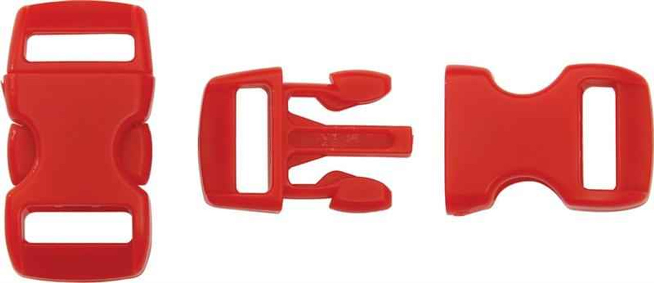 Knotty Boys Buckle. Red