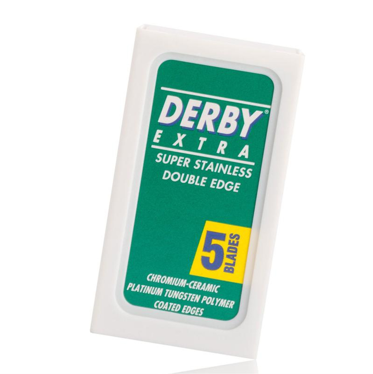 Boker Set of five Derby replacement blades for safety razors