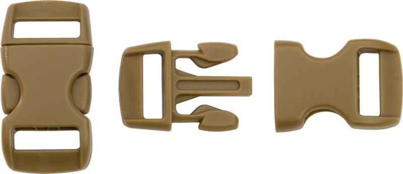Knotty Boys Buckle, Coyote Brown