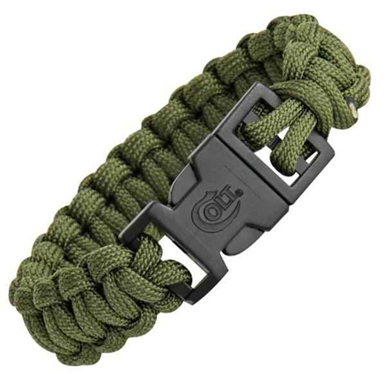 Colt Tactical S.P.E.A.R. Survival Bracelet, OD Green