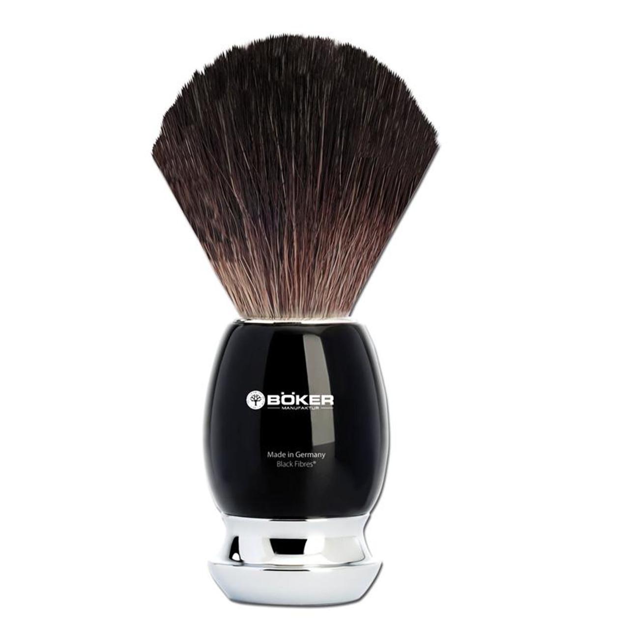 Boker Black Fiber Shaving Brush