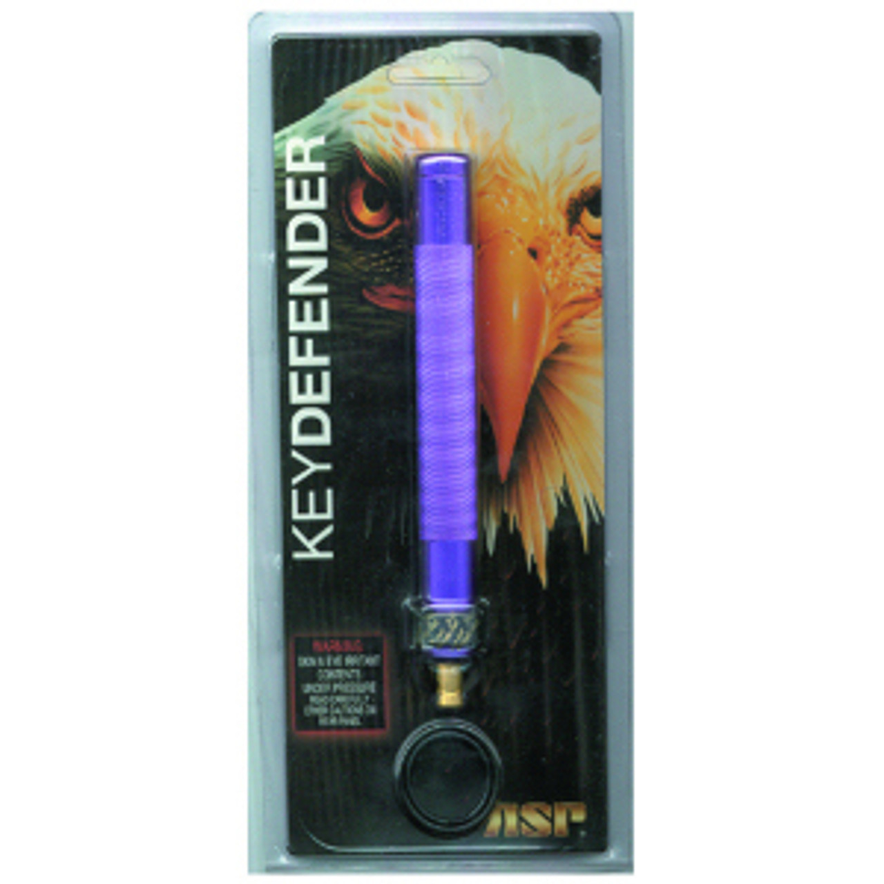 ASP 55151 Key Defender (OC), 6061 T6 Aerospace Aluminum Construction, Violet