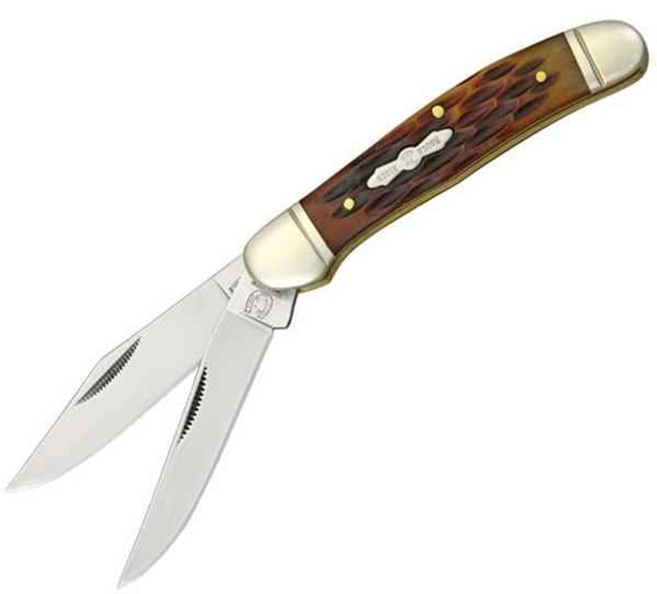 Rough Rider Copperhead RR043, Jigged Bone Handle