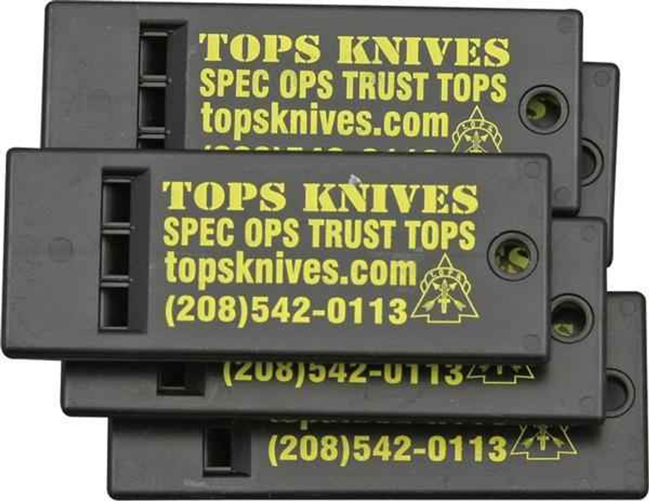 Tops Survival Whistle, Package of Five