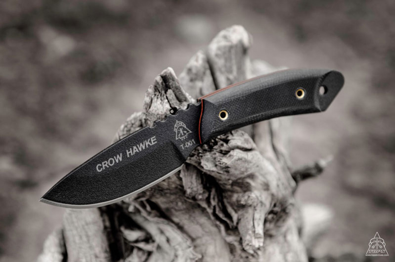 TOPS CROW HAWKE Kneck Knife