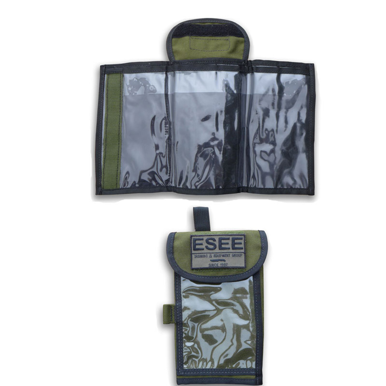 Esee Izula Gear Map Case in OD Green