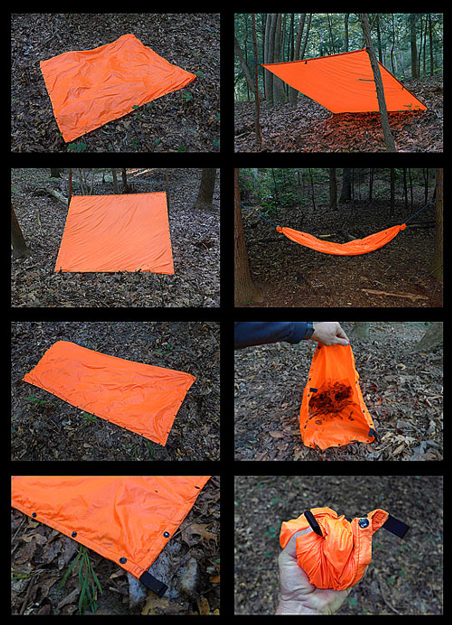 Esee Survival Panel, Orange Signal Tarp