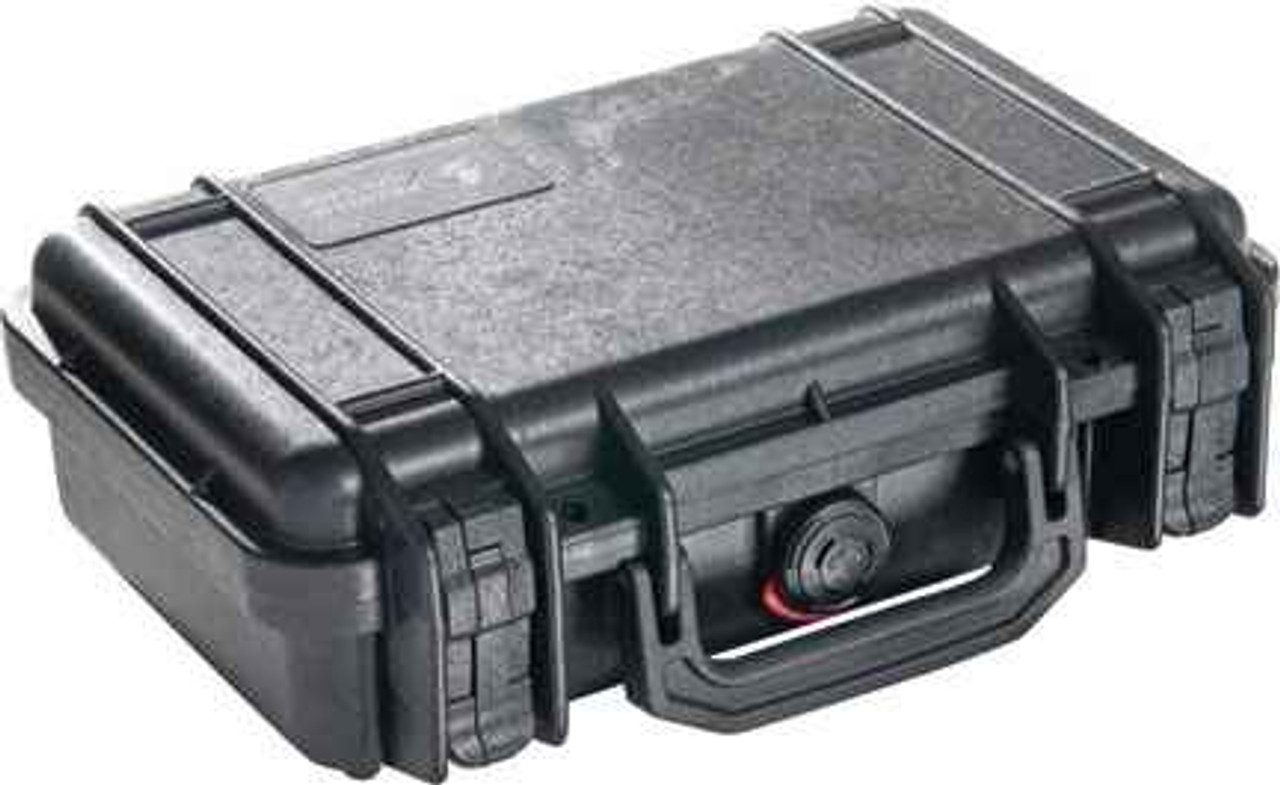 "Pelican Model 1170 Case - Black. Interior Dimensions: 10.54"" x 6.04"" x 3.16""."