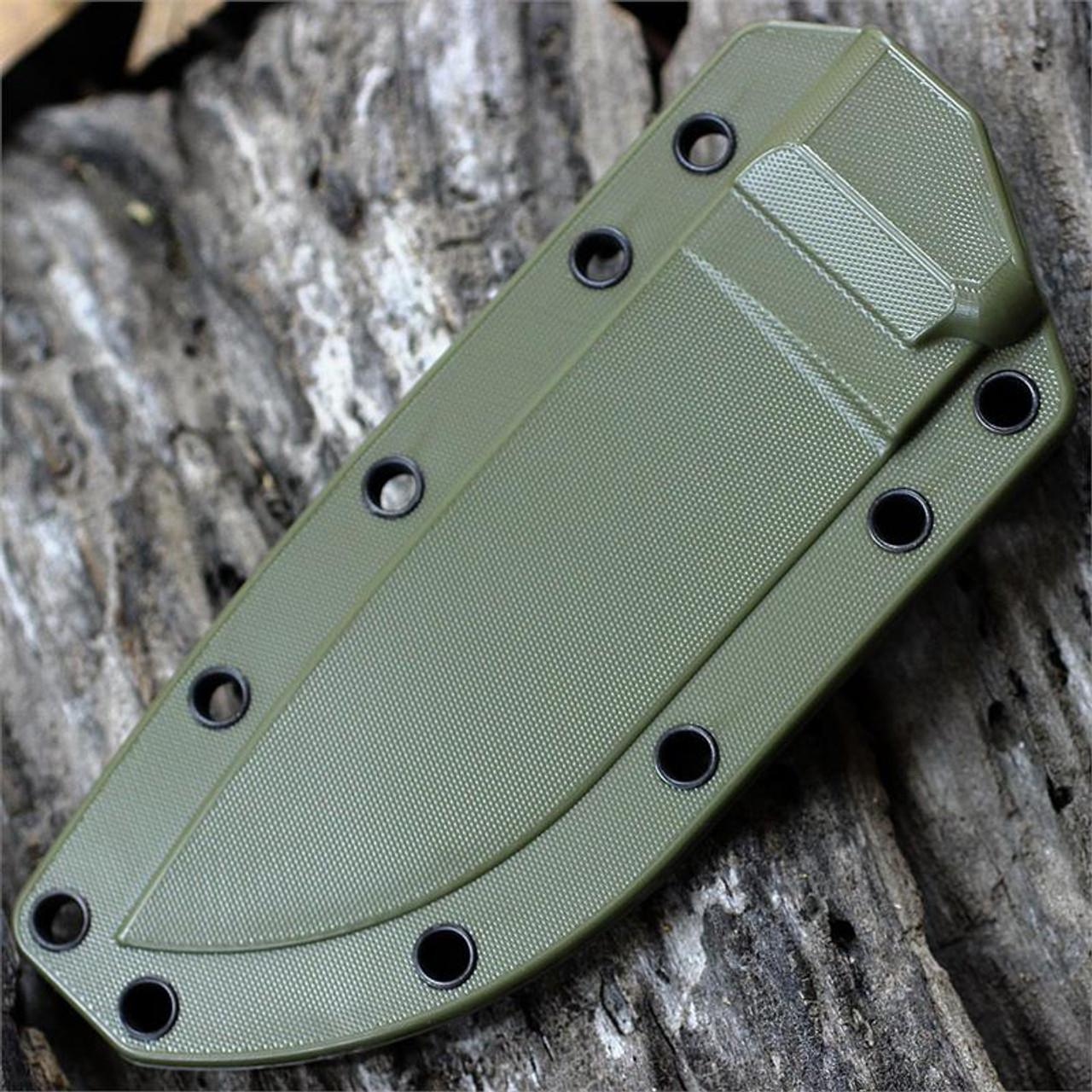 ESEE Knives Model 4 Olive Drab Molded Fits Model 4 Knifes Sheath Only 4-MSOD NEW