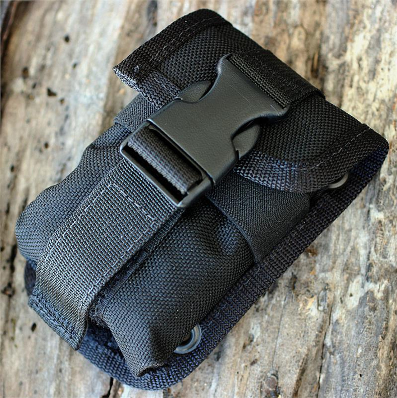ESEE Knives ESEE-5 and ESEE-6 Black Accessory Pouch w/ Black Tin