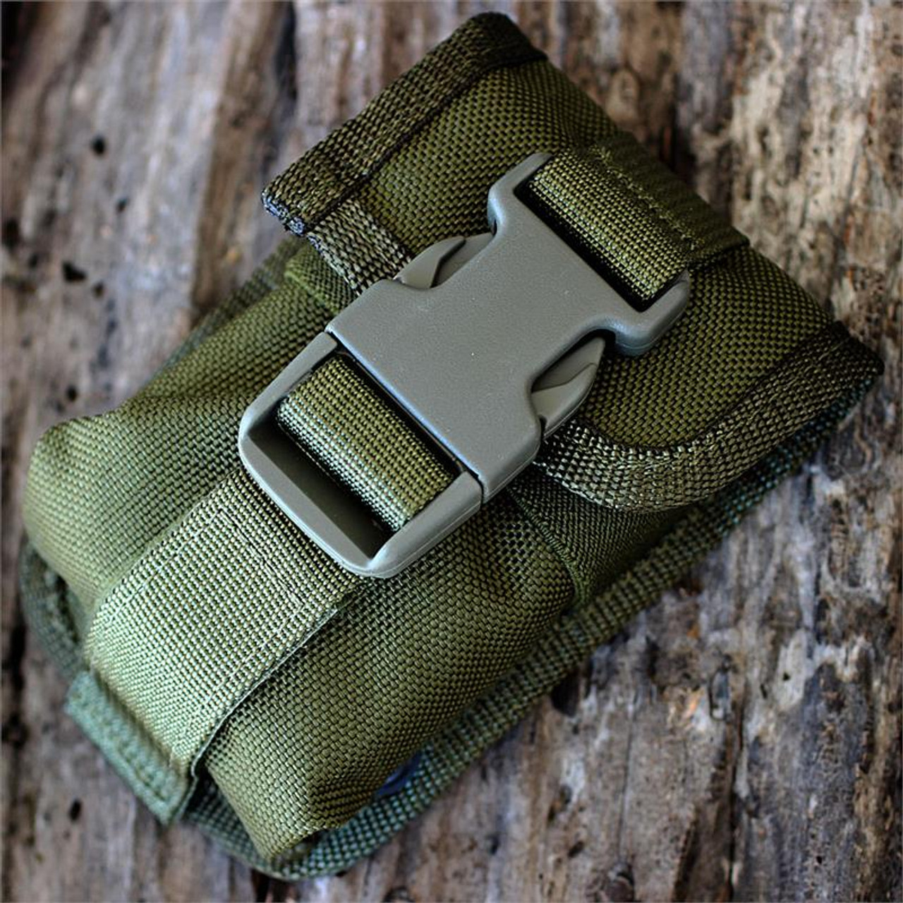 ESEE Knives ESEE-5 and ESEE-6 OD Green Accessory Pouch w/ Black Tin