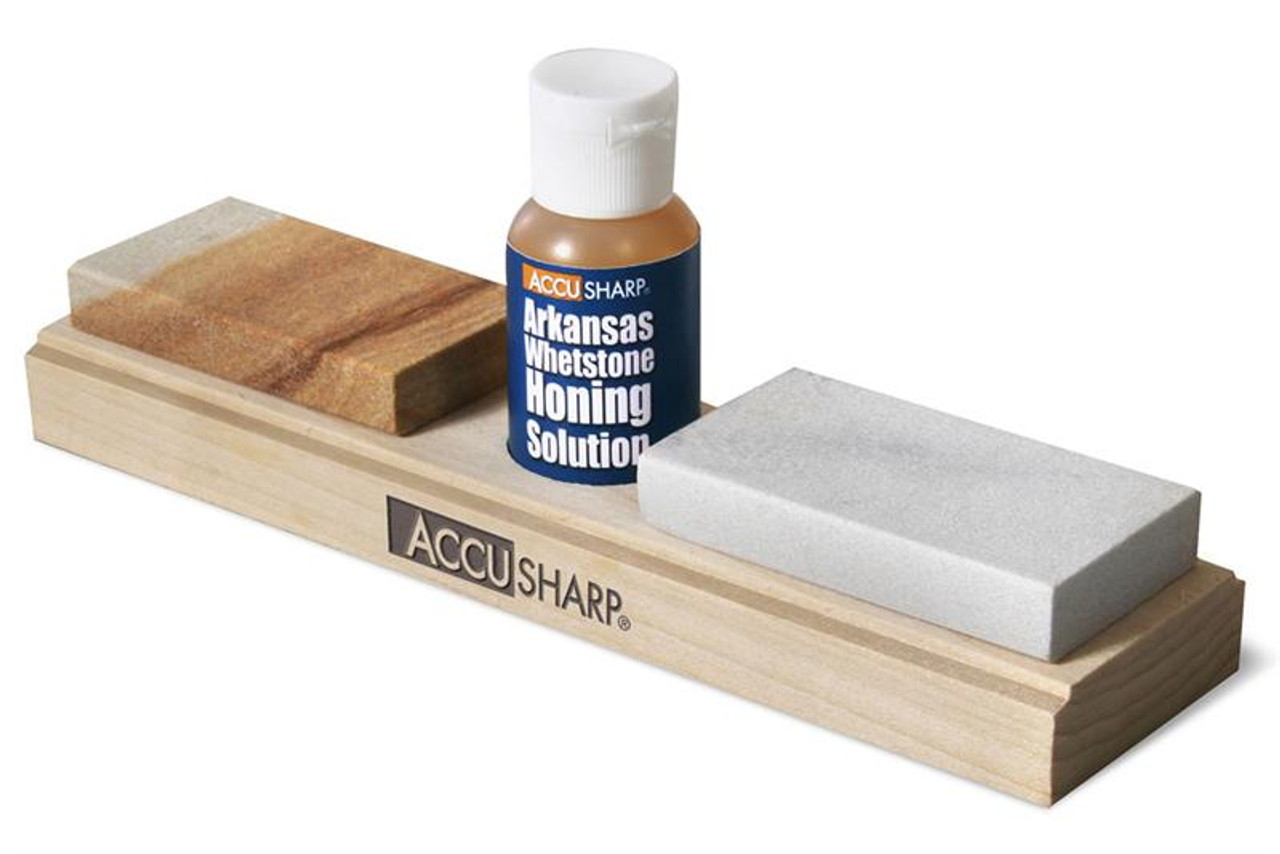 Accusharp AS023C Combo Sharpening Stones with Honing Oil