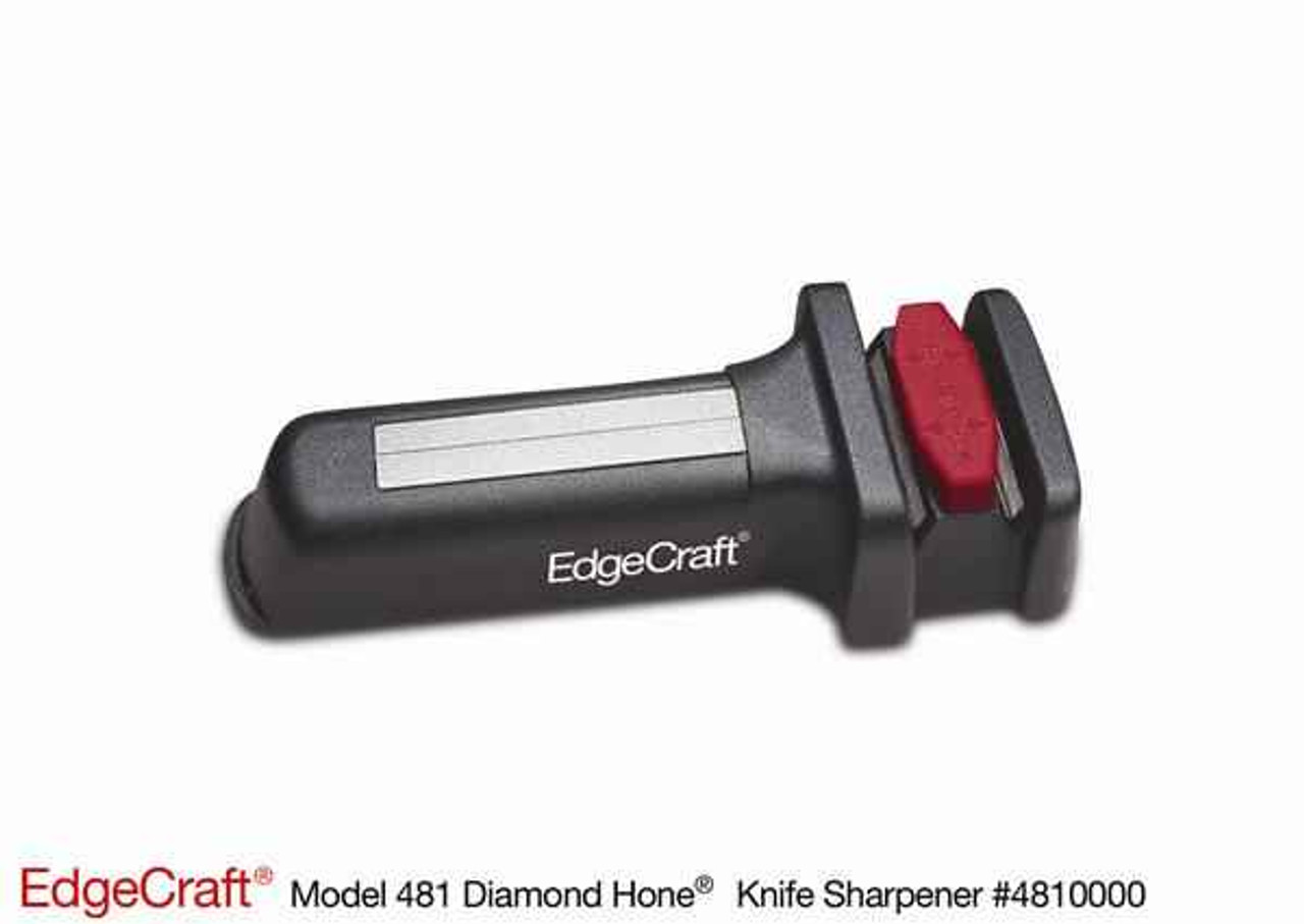 Chef's Choice EdgeCraft Model 481E Pocket Diamond Hone Sharpener w/ Fish hook Sharpener