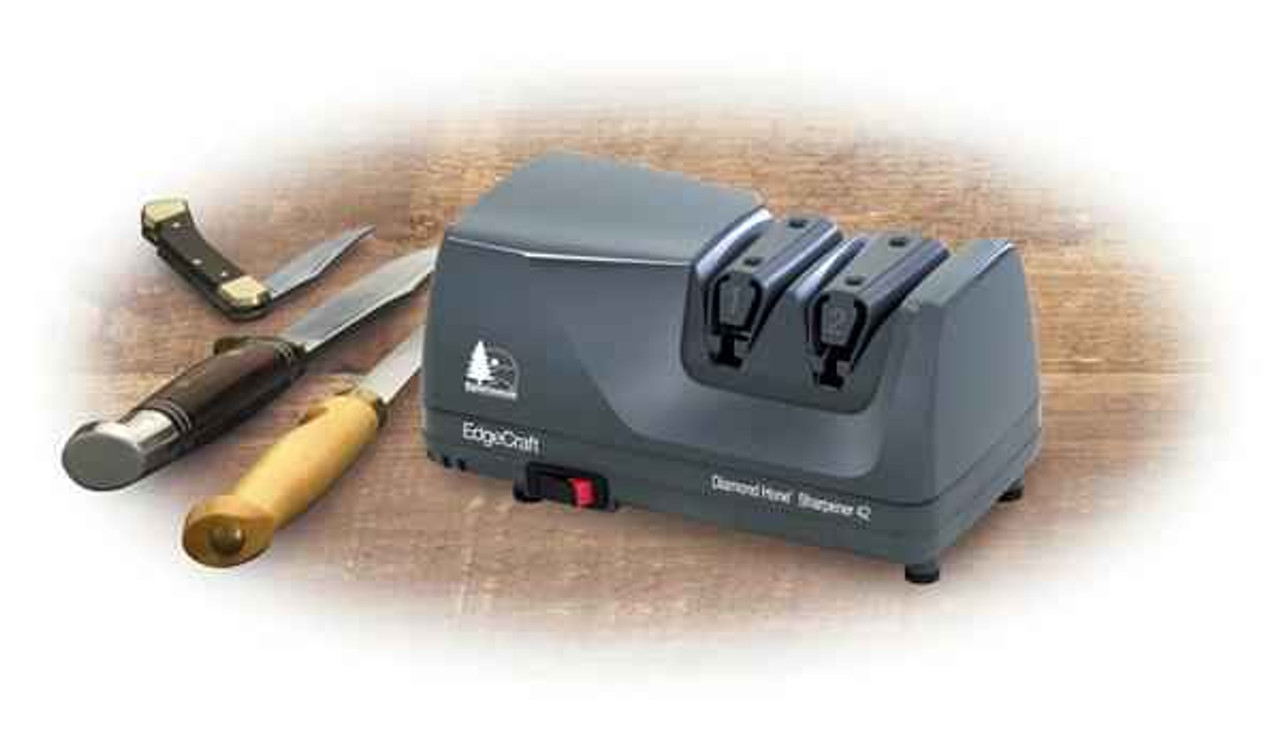 Chef's Choice Model 42 Sportsman Diamond Hone Sharpener, Grey