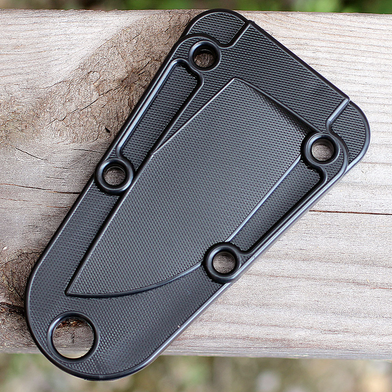 ESEE IZULA Knife, Black, Concealed Carry Knife, With Clip Plate