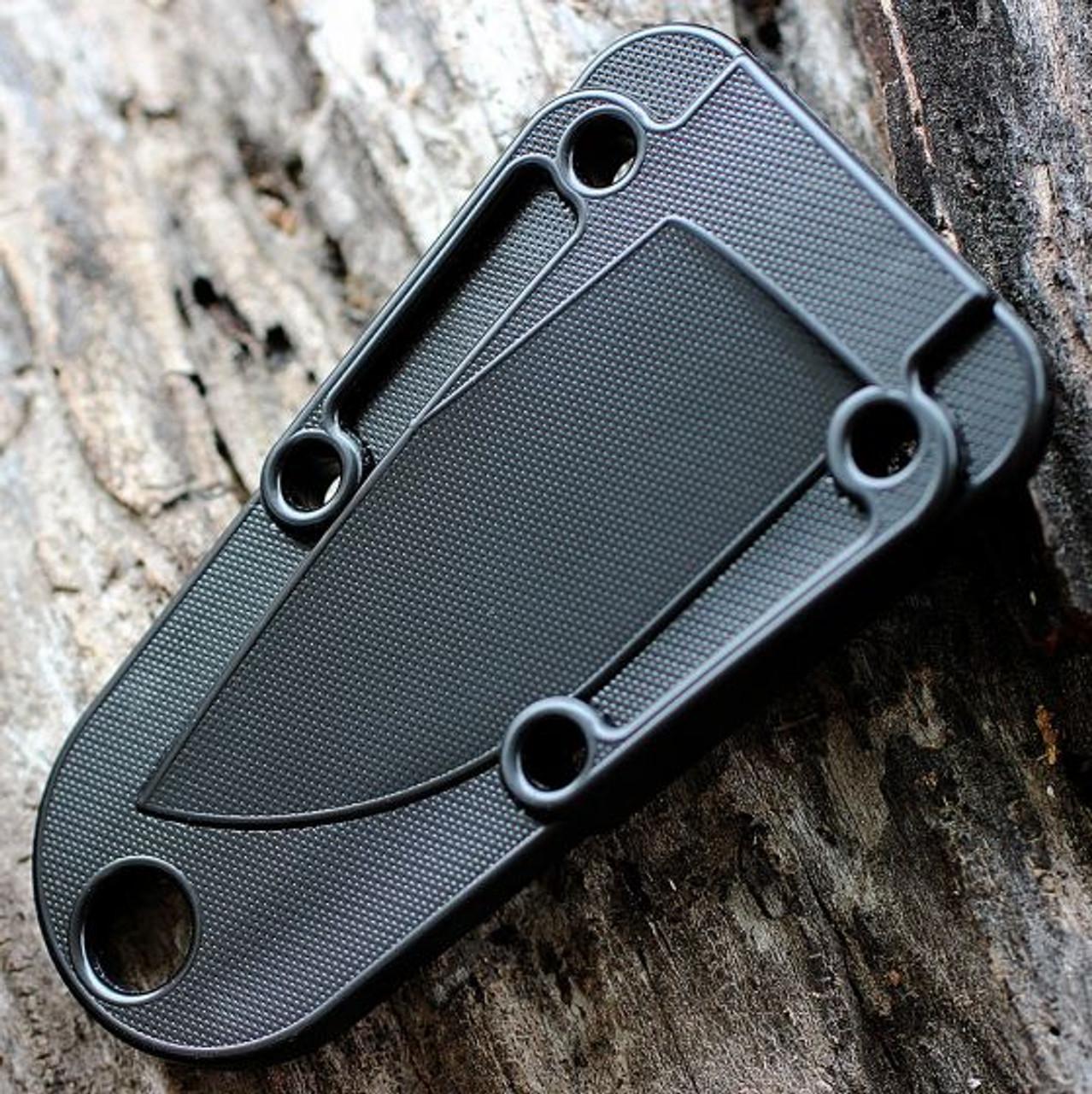 ESEE IZULA Knife, Dark Earth, Concealed Carry Knife, Clip Plate