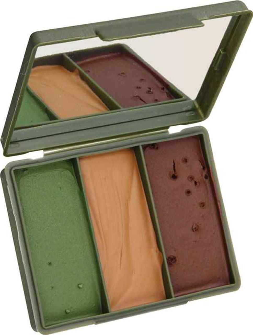 Bushcfart Chameleon Camo Compact 40G OD green, tan and brown