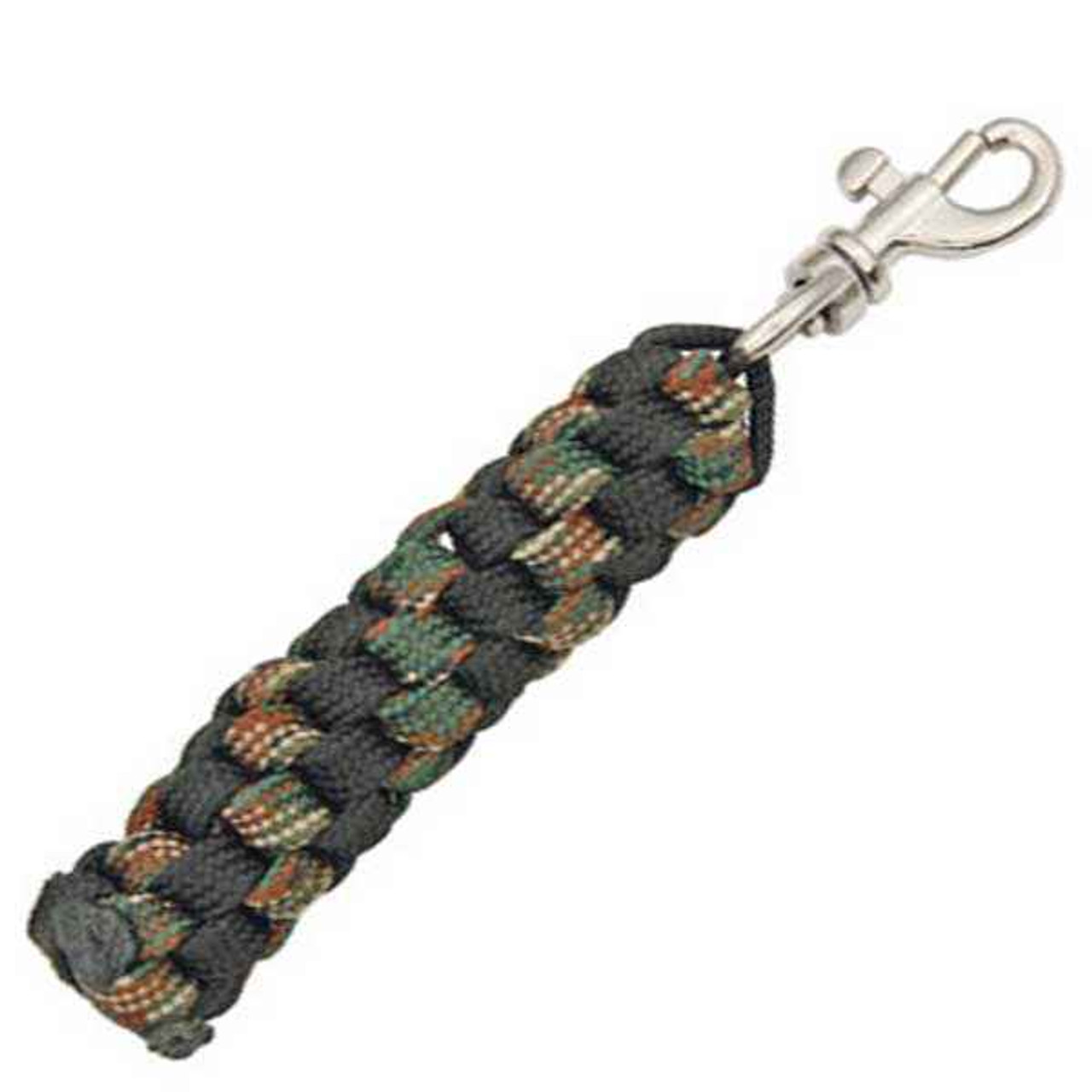 Para Cord Key Chain Black and Woodland Camo