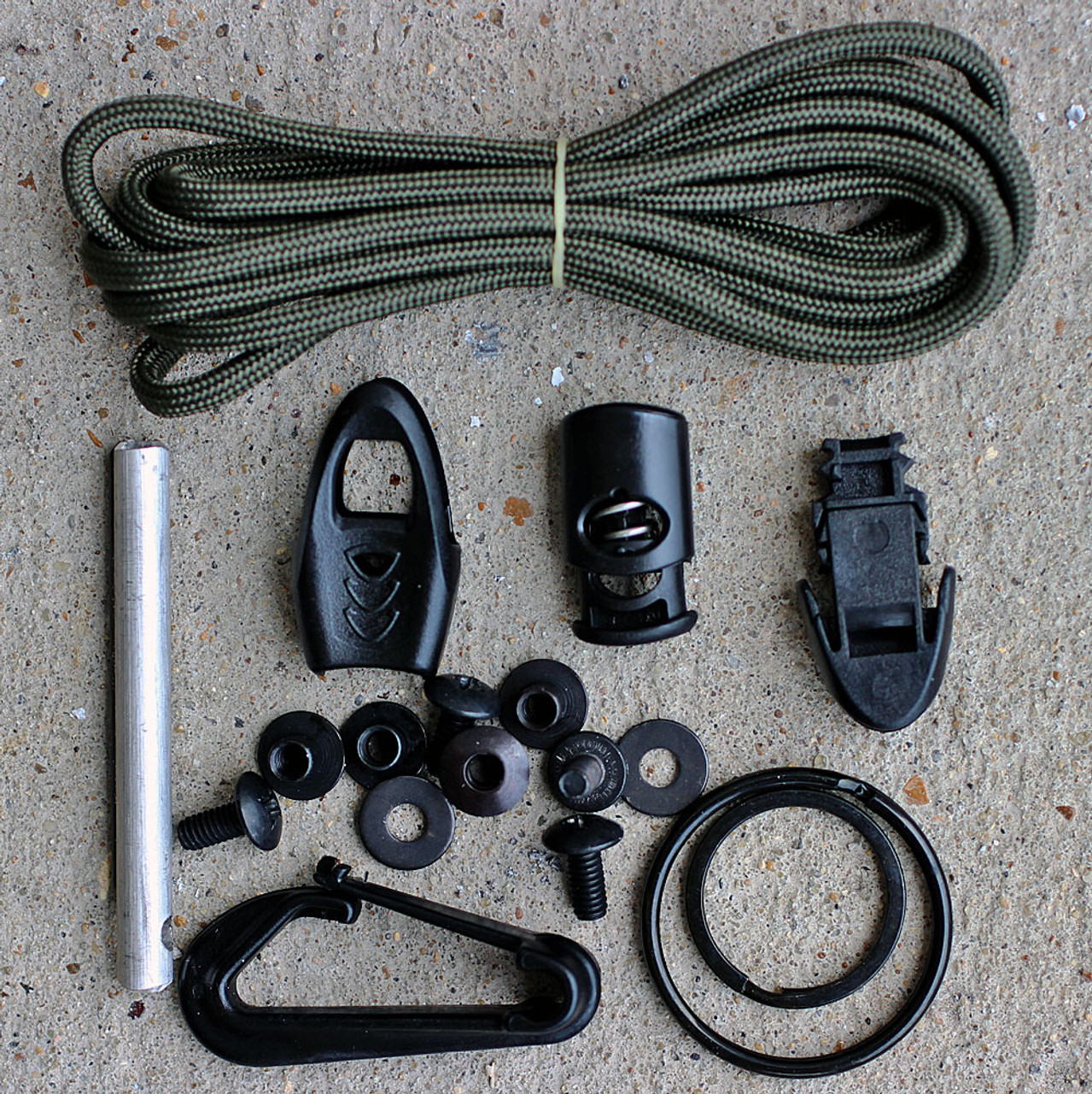 Esee Izula Kit, Gray Textured Powder Coated Finish
