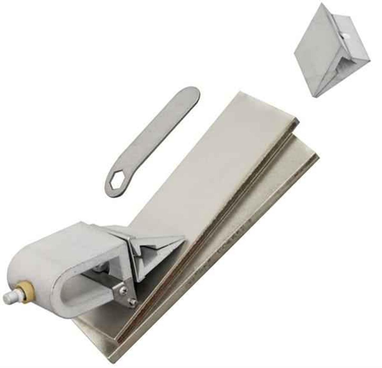 KME Self-Aligning Broadhead and Replacement Blade Sharpener - Diamond Stone Kit.