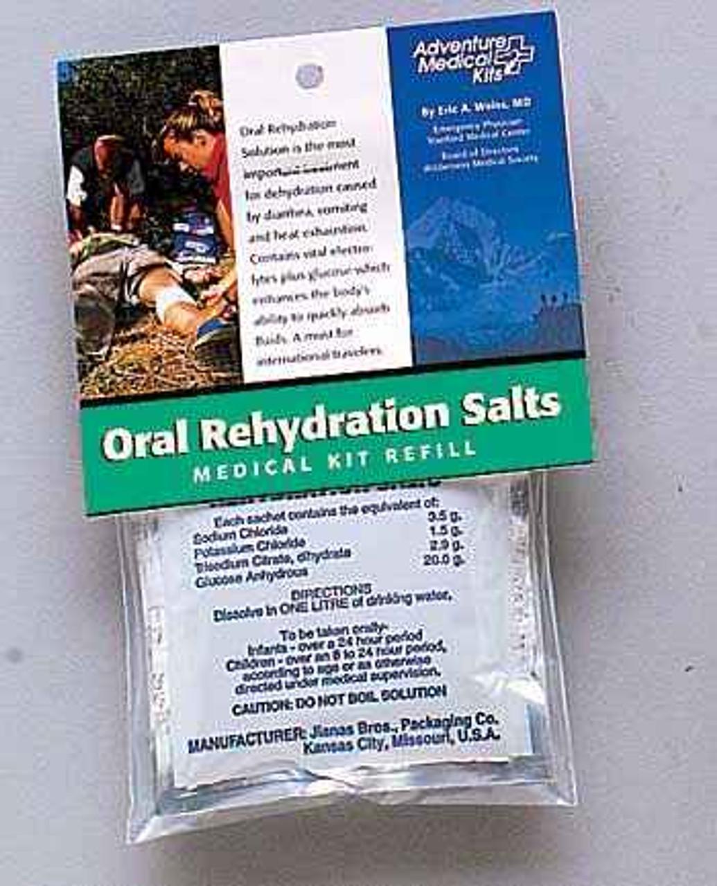 Adventure AD0155-0650 Medical Kits Oral Rehydration Salts 3 Packs