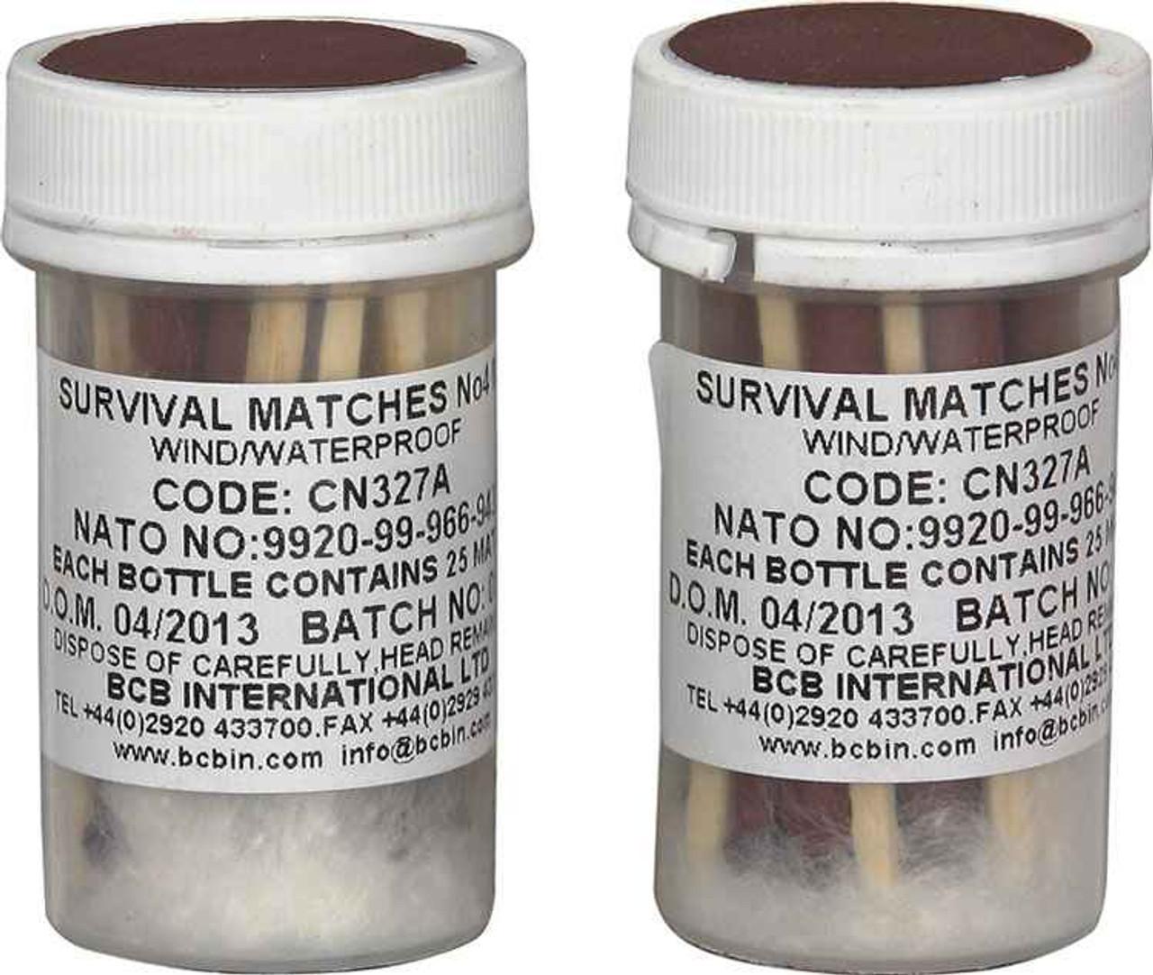 Bushcraft Weatherproof Survival Matches