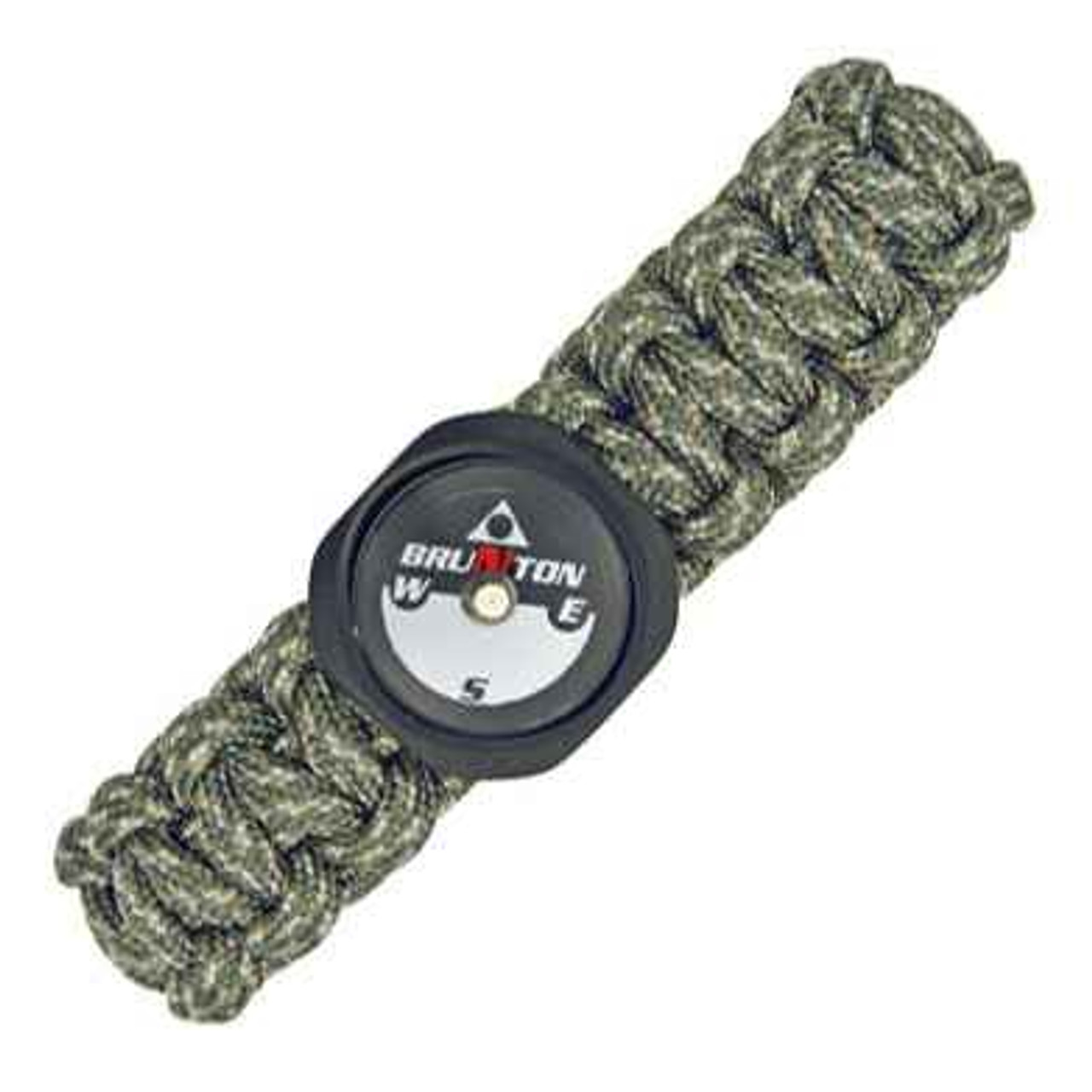 Para Cord Survival Bracelet with Compass. Digital Camo Size Small