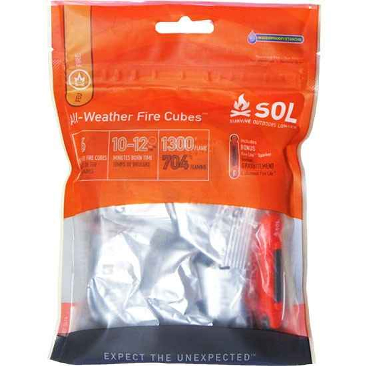 Adventure AD1240 Medical Kits SOL All-Weather Fire Cubes