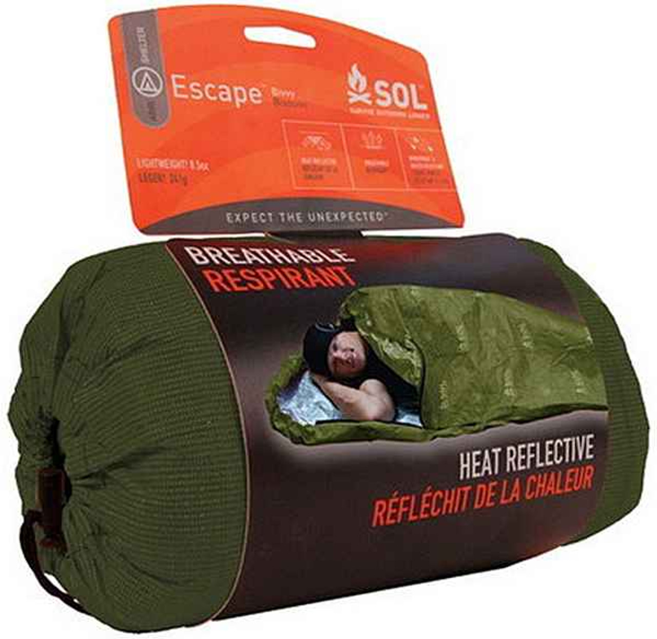 Adventure Medical Kits SOL Escape Bivvy OD Green