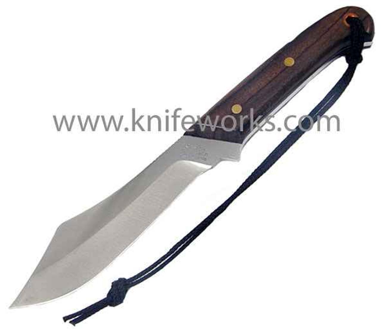 Grohmann Deer and Moose Knife, Rosewood handle