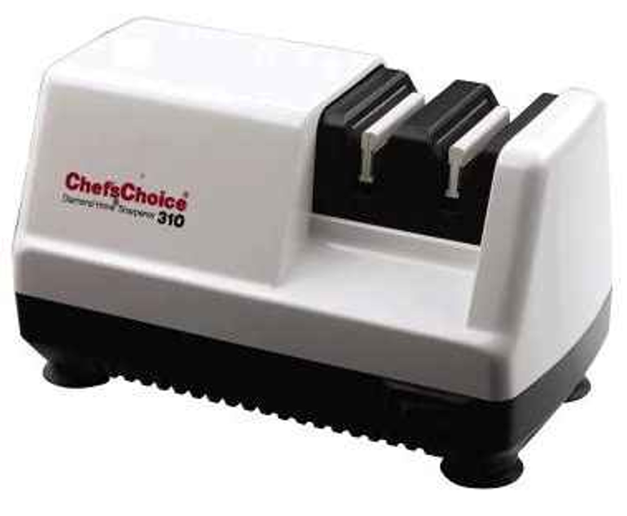 Chef's Choice 310W Electric Diamond Hone Two Stage Sharpener, White