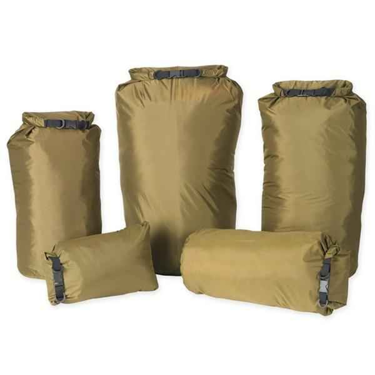 Pro Force Dri-Sak Waterproof Bag - Small, Coyote