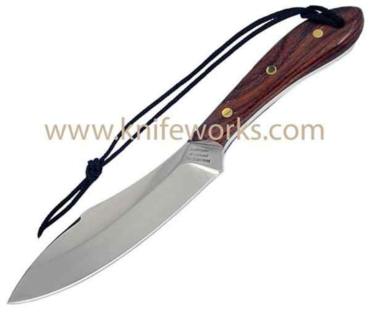 Grohmann Survival Knife, Rosewood handles