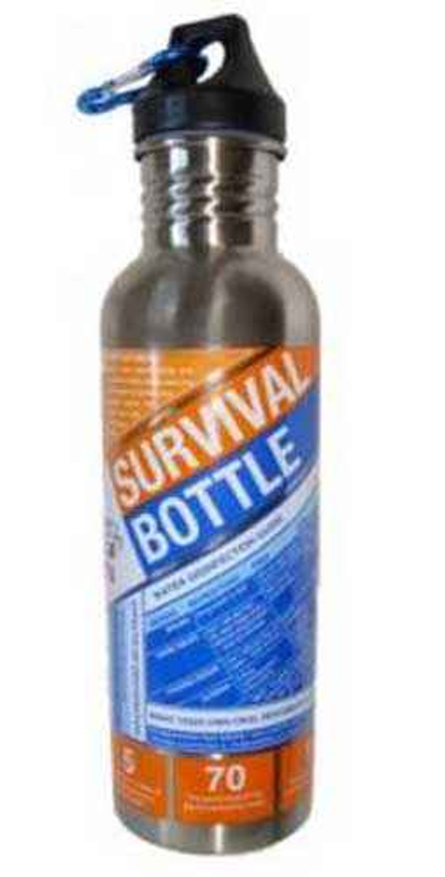 Adventure AD0140-0008 Medical Kits S.O.L. Survival Water Bottle