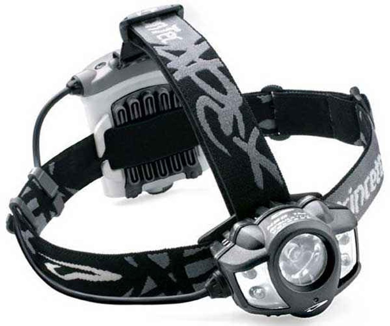 Princeton Tec Apex LED Headlamp, Black