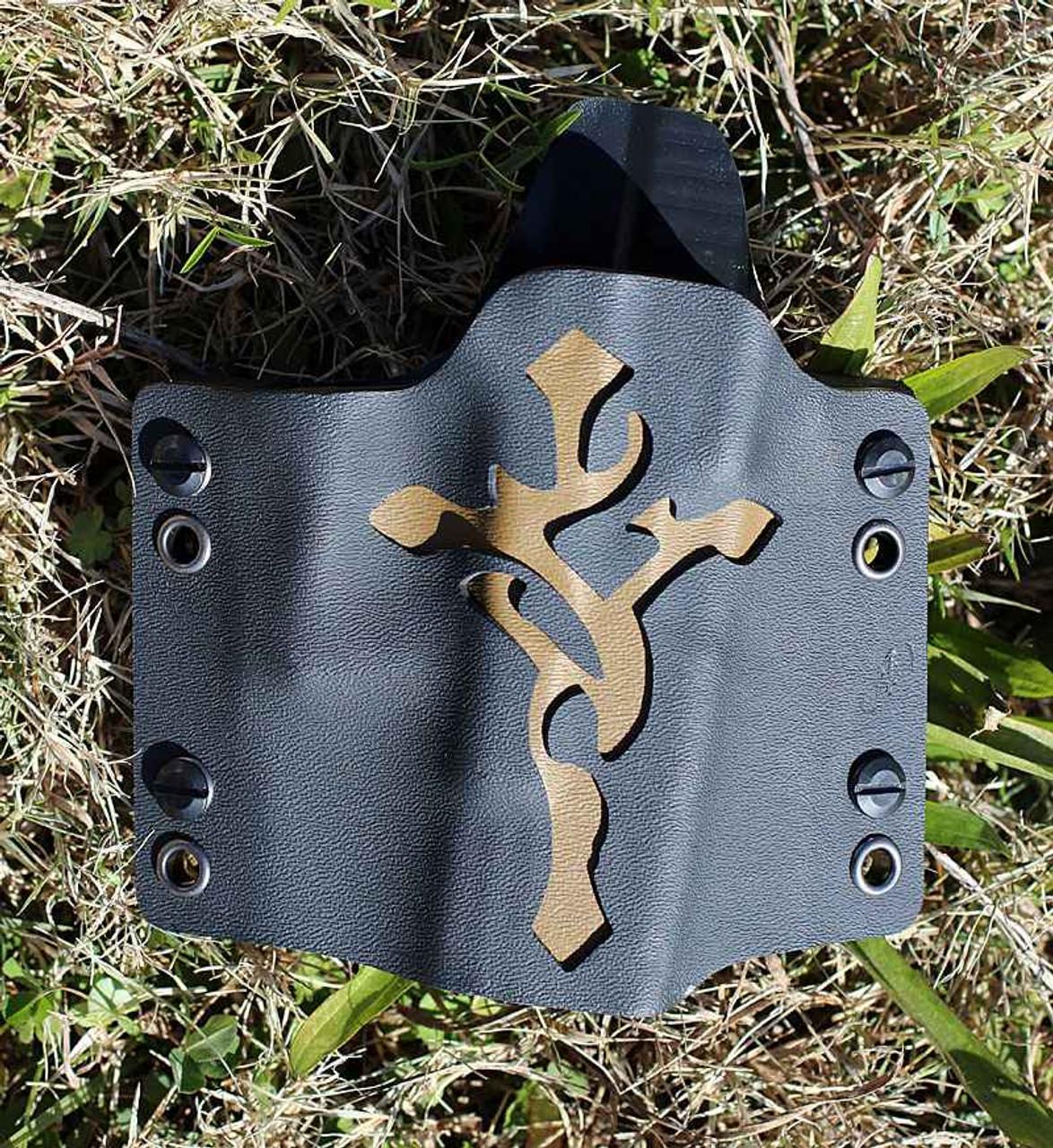 Concealment Custom Commander1, Right Hand, Glock 17, 22, 31, 19, 23, 32-Coyote Brown