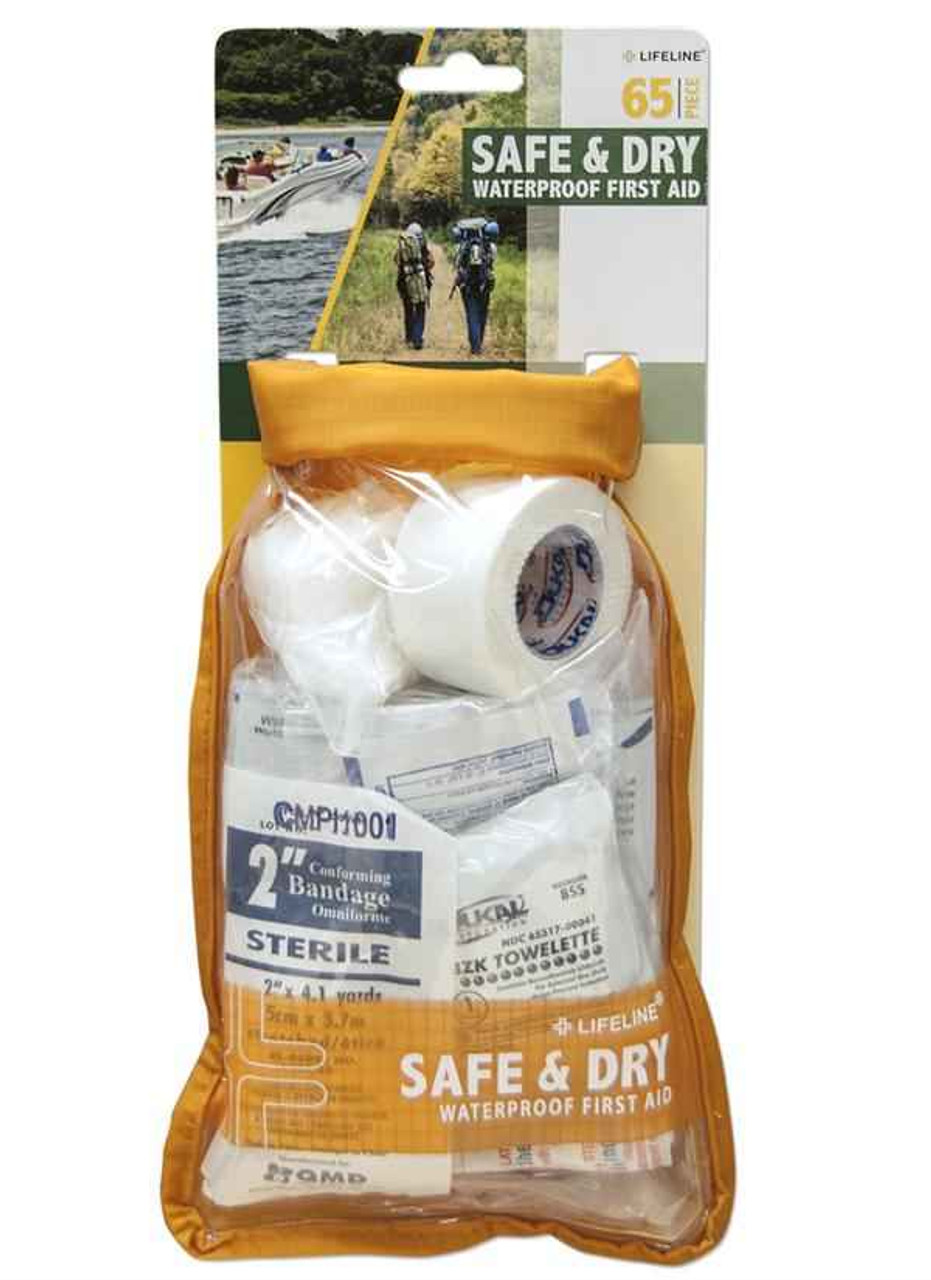 Lifeline 4086 : Medium Safe & Dry Weather Resistant First Aid