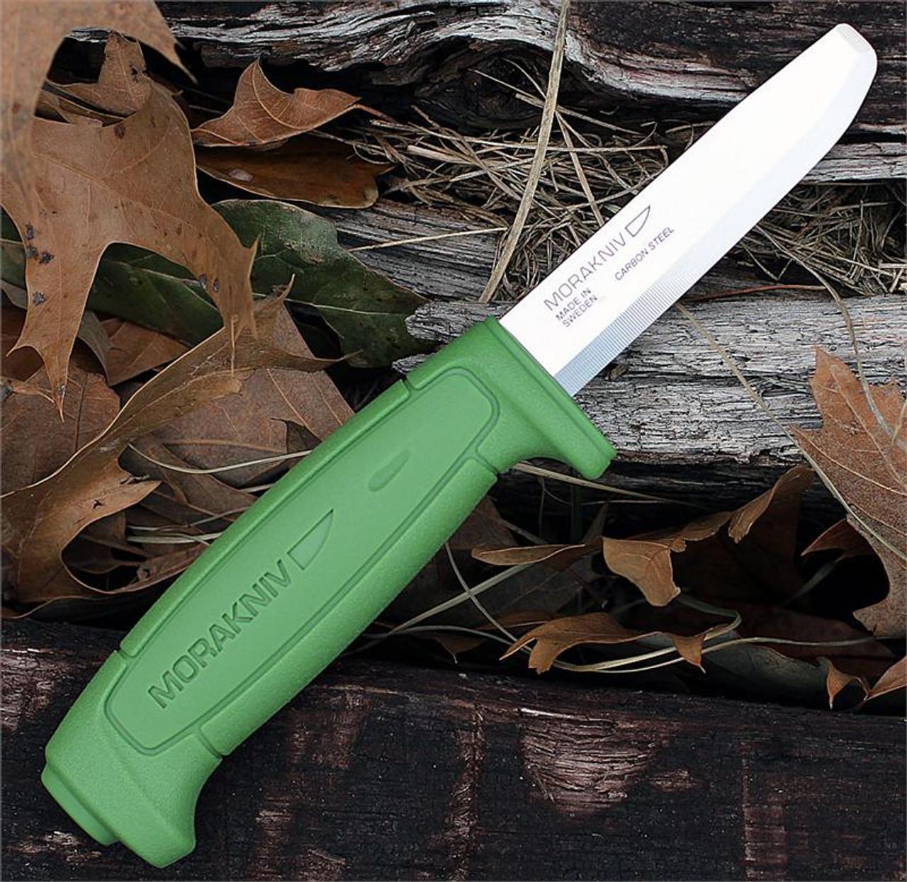 Mora Craft Safe knife 12244, 3.2 in. Carbon Steel Blade