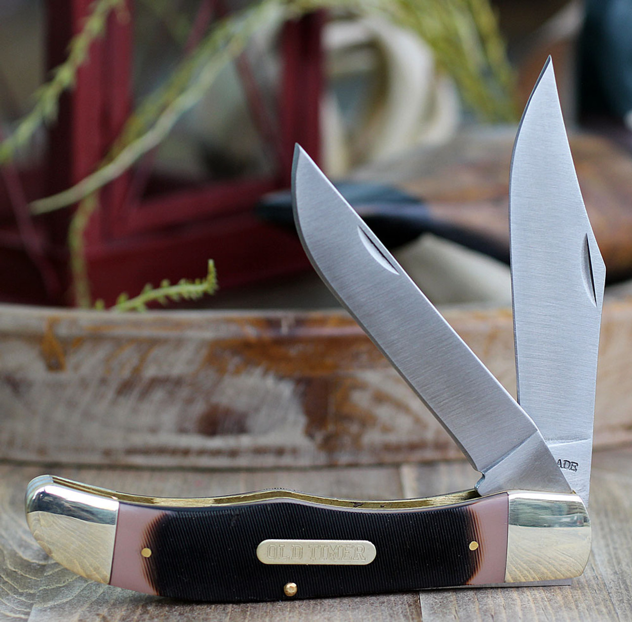 Schrade Old Timer Folding Hunter