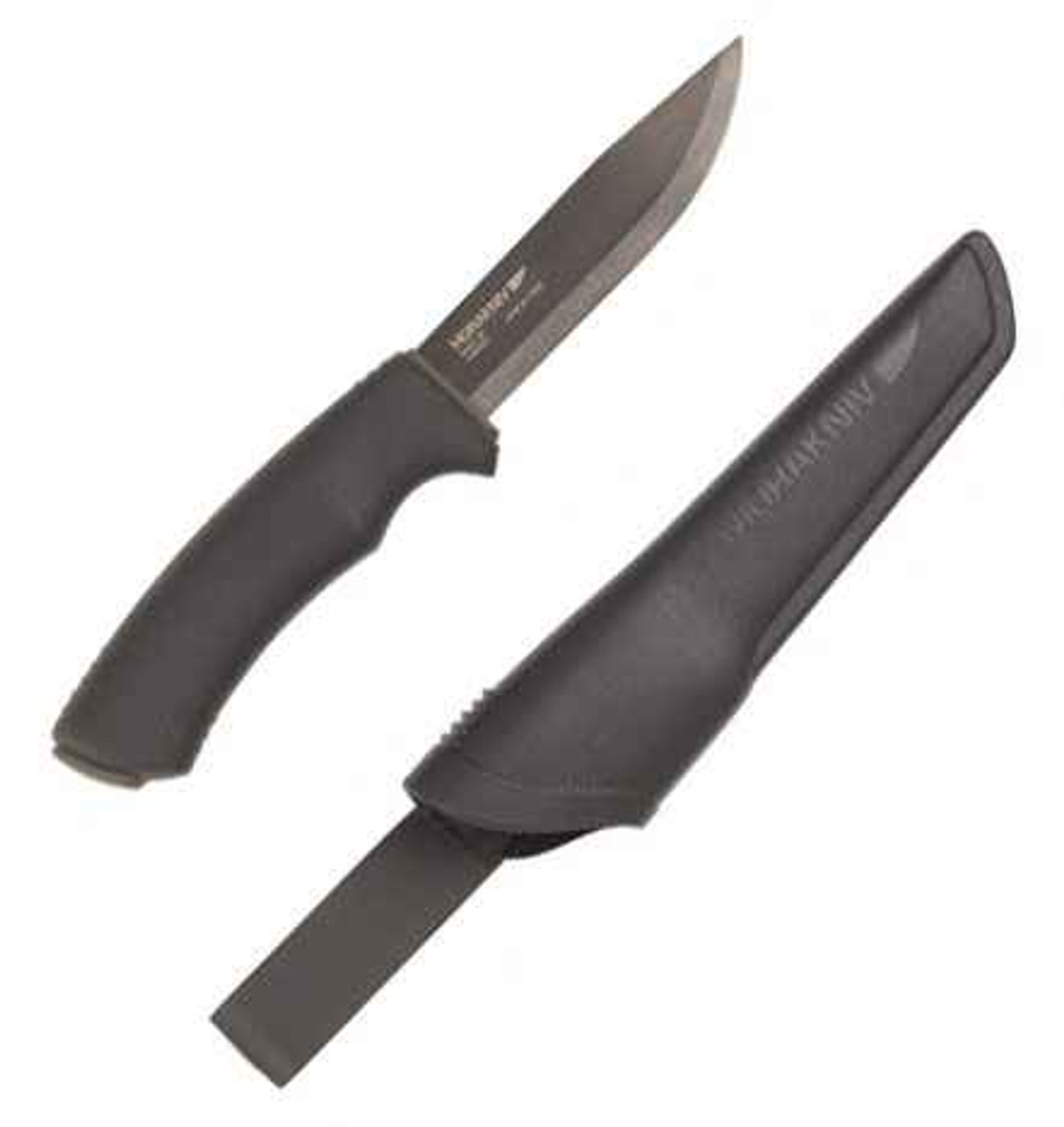 Mora Bushcraft Series Heavy, Black Coated Blade