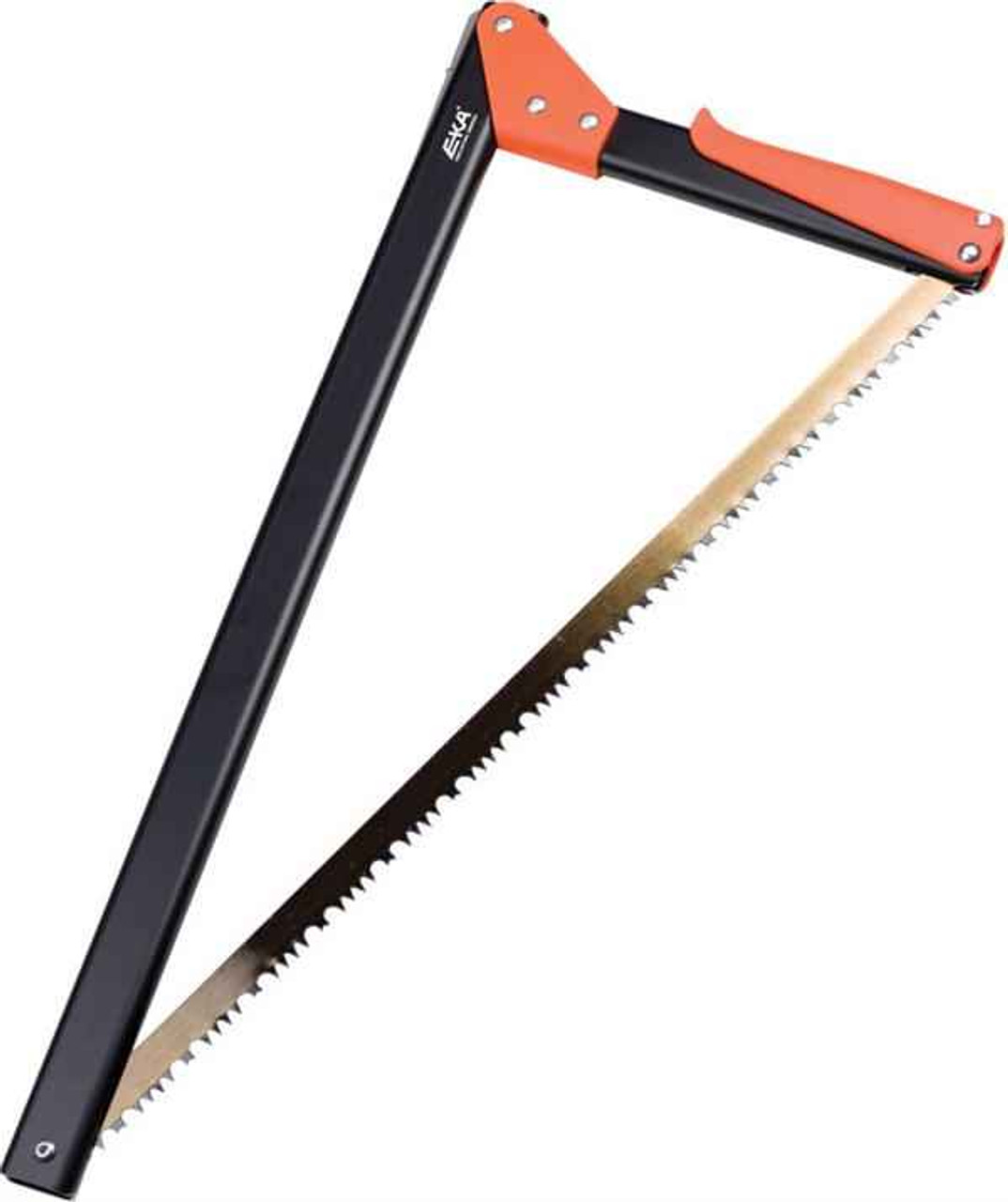 """EKA Viking Combi-Saw. Approximately 21"""" closed, Black finish handles with orange grip and connector"""