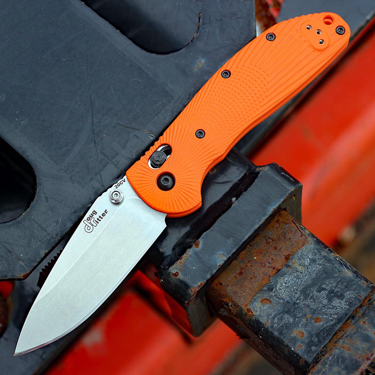 Doug Ritter RSK®  MK1-G2 Knifeworks Exclusive-Orange G-10